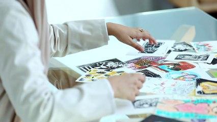لقاء مع الفنانة الإماراتية عليا الشامسي