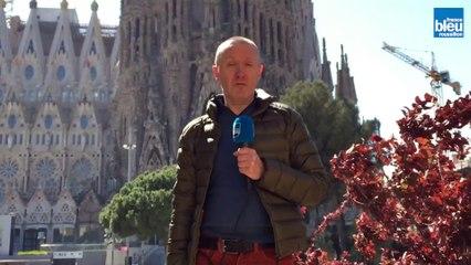 Le chantier de la Sagrada Familia avance à Barcelone