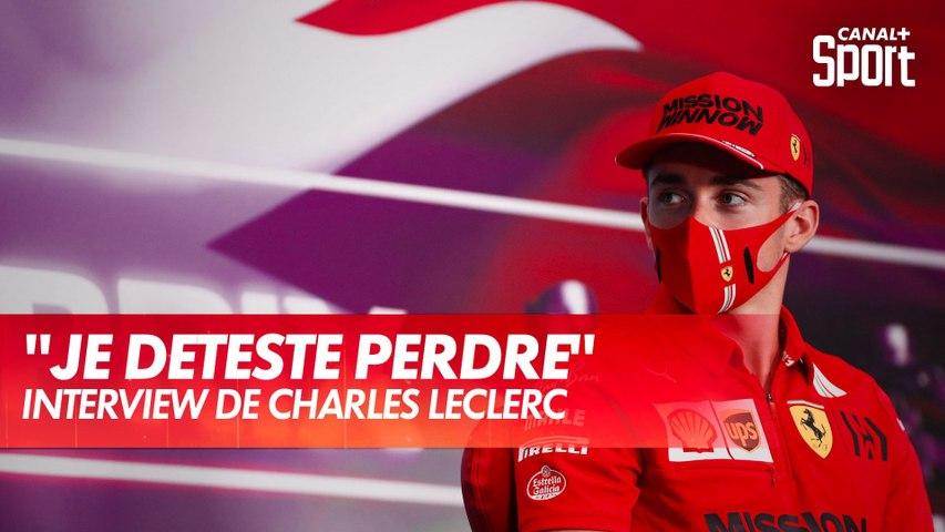 """Charles Leclerc : """"Je déteste perdre !"""""""