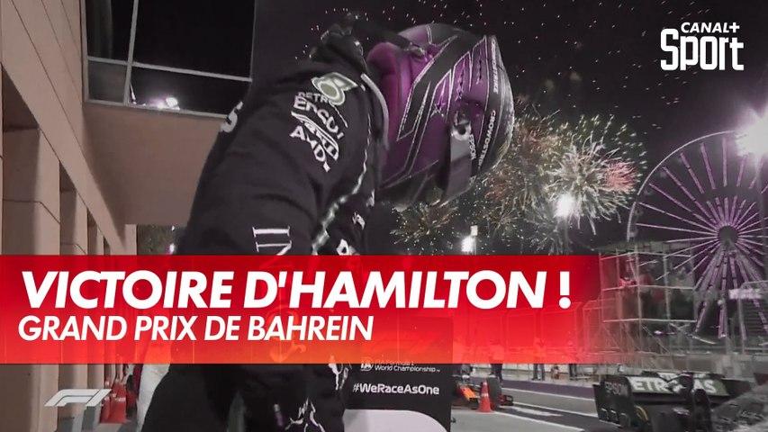 Lewis Hamilton remporte le Grand Prix de Bahreïn !