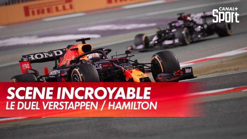 Quand Verstappen rend sa place à Hamilton au Grand Prix de Bahreïn !