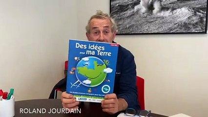 24 mars 2021, Roland Jourdain annonce les gagnants de la 6e édition du défi Des idées pour ma Terre. ©Inkipitch