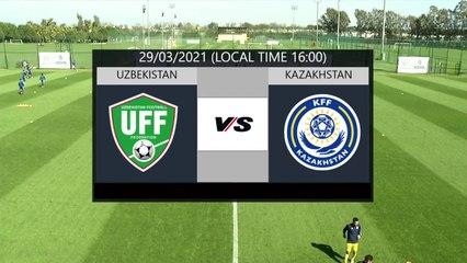RELIVE: enda TOUR Antalya Cup 2021 - U21 NT Matches: UZB U21 v KAZ U21