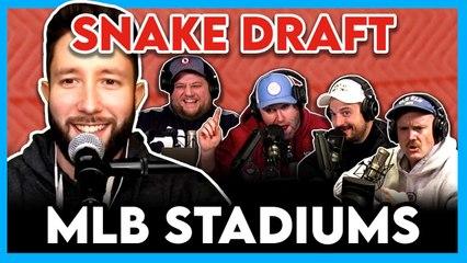MLB Stadium Draft (ft. Jared Carrabis): Does Dodger Stadium Suck?