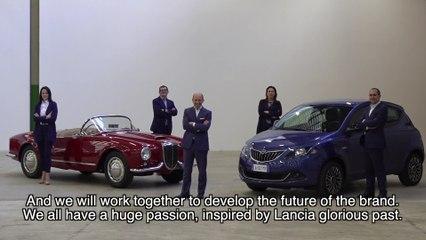 Luca Napolitano, annuncia la nuova organizzazione del marchio Lancia