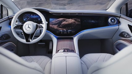 मर्सिडीज EQS - सभी इंद्रियों के लिए डिजाइन