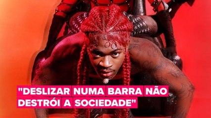 Chore de rir com as respostas afiadas do Lil Nas X no Twitter aos comentários homofóbicos sobre seu novo videoclipe.