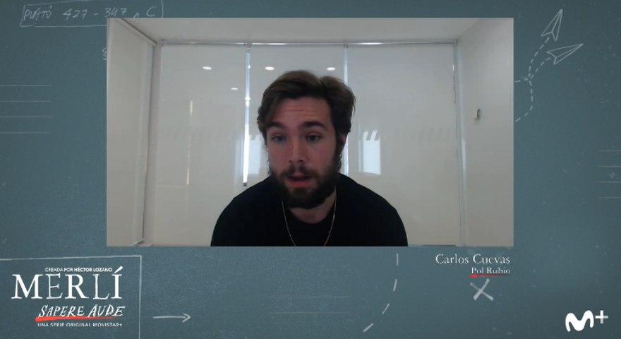 Merlí. Sapere aude: entrevista a Carlos Cuevas