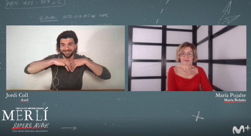 Merlí. Sapere aude: entrevista a Jordi Coll y María Pujalte