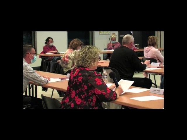 Vidéo du conseil municipal du 29 mars 2021 (partie 2/2)