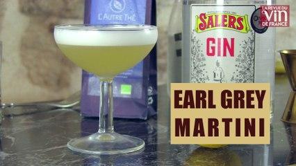 Le Earl Grey Martini, surprenant cocktail à base de gin et de thé