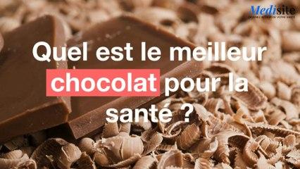 Quel est le meilleur chocolat pour la santé ?