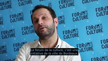 Forum de la culture : Dimitri Boutleux