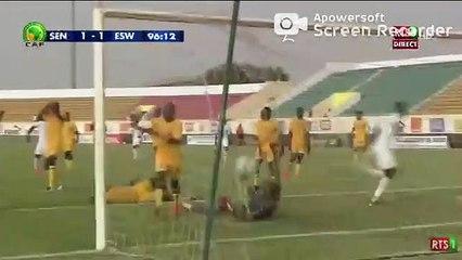 Admirez le but égalisateur de Cheikhou kouyaté dans les dernières secondes face à Eswatini
