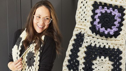 How To Crochet A Granny Square   Part 1   Stitch Club