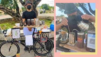 This Former Bartender Started a Mobile Bike Cafe With Only P700