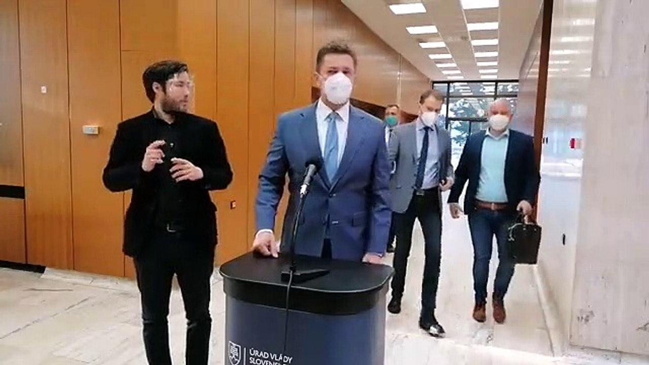 ZÁZNAM: Brífing ministra dopravy A. Doležala pred rokovaním Vlády SR