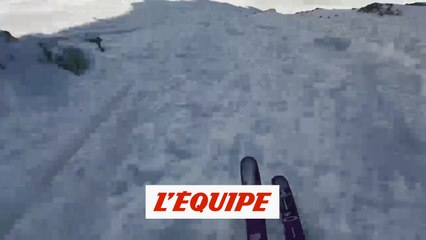 Astrid Cheylus championne du monde de ski freeride - Adrénaline - Ski freeride