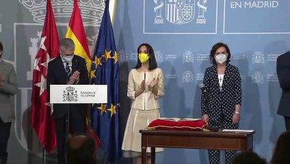 Mercedes González toma posesión como delegada del Gobierno en Madrid