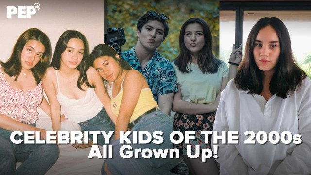 Celebrity kids of the 2000s all grown up! | PEP Specials