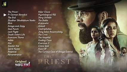 The Priest OST Audio Jukebox _| Mammootty |_ Manju Warrier _| Rahul Raj _| Jofin T Chacko