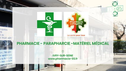 Pharmacie 55, pharmacie, parapharmacie et matériel médical, à Ivry-sur-Seine.