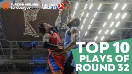 Regular Season Round 32 Top 10 Plays