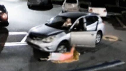 I Survived a Crime: Purse Snatcher Nearly Runs Over Woman with Car