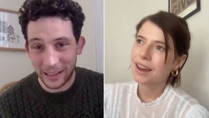 Josh O'Connor and Jessie Buckley on theatres reopening post-covid