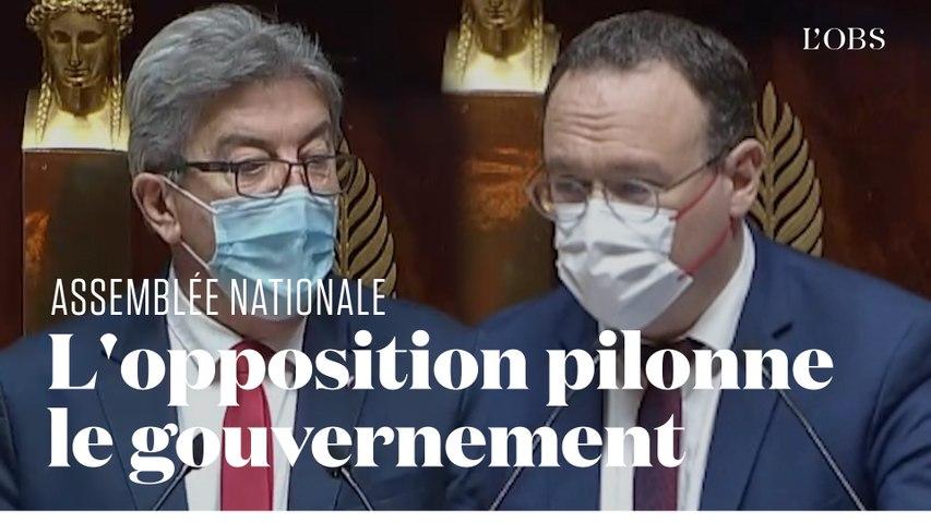 Macron et Castex s'autocongratulent, l'opposition s'insurge à l'Assemblée