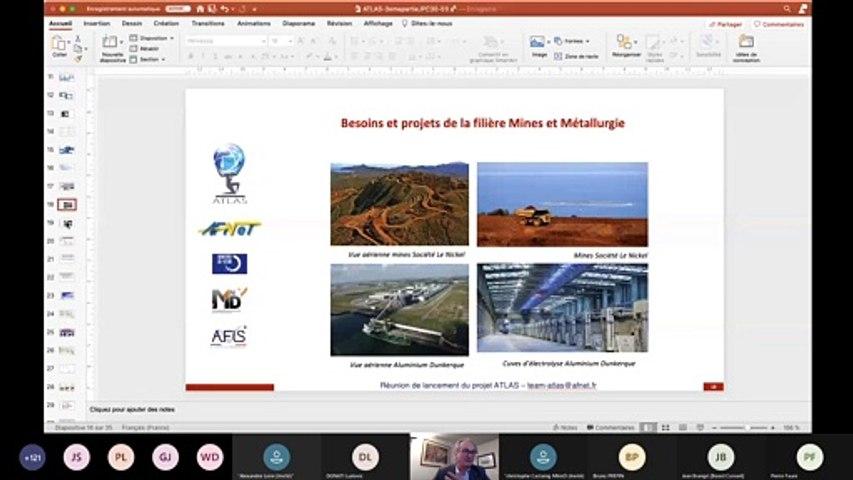 ATLAS : Réunion Lancement  3/3 : 5) Atlas et filière Technologies de la Santé
