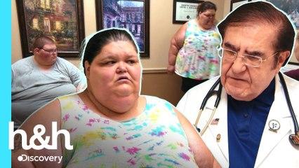 Mujer y su sobrino están al filo de la muerte por sobrepeso | Kilos Mortales | Discovery H&H