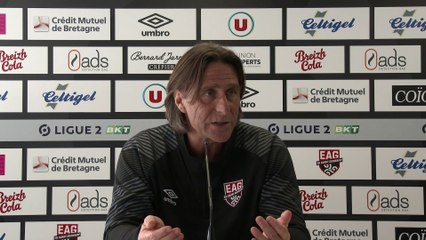 Troyes - EAG   Ligue 2 BKT - J31 : le point presse de Fred Bompard