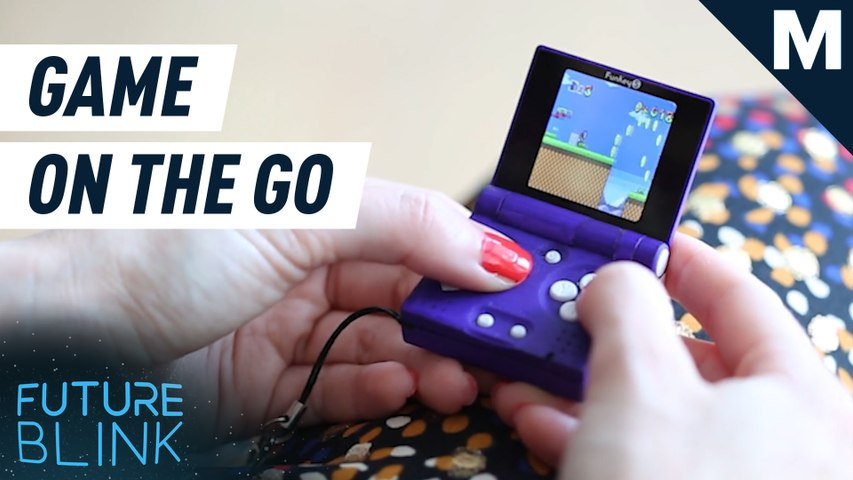 Game anytime, anywhere with this super tiny console — Future Blink