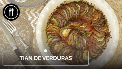 TIAN DE VERDURAS, la mejor forma de comer vegetales de una manera original
