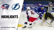 Blue Jackets @ Lightning 4/1/21 | NHL Highlights