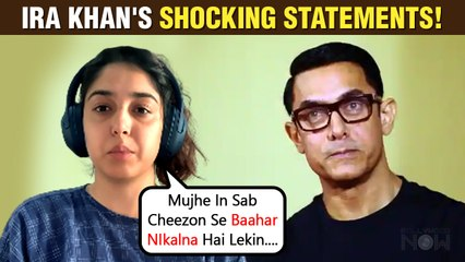 Aamir Khan's Daughter Ira Khan Says She Overreacts| Shocking Statement On Mental Health