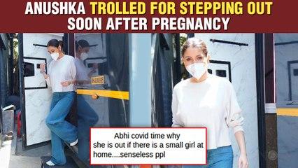 Anushka Sharma Back To Work After First Pregnancy | Gets Brutally Trolled