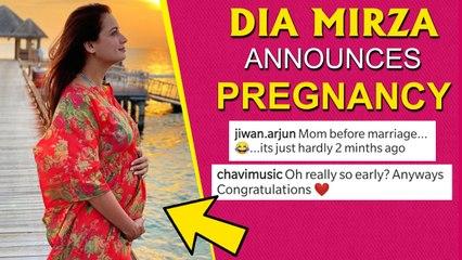 Dia Mirza Announces Pregnancy, Flaunts Baby Bump