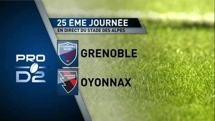 GRENOBLE / OYONNAX : résumé du match