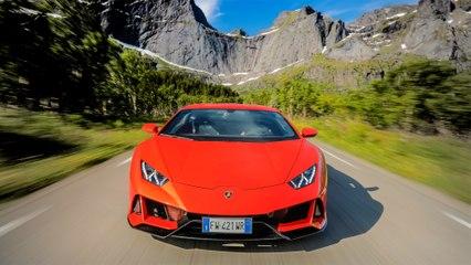 مجموعة جديدة من الخدمات المتصلة لمجموعة Lamborghini Huracán EVO