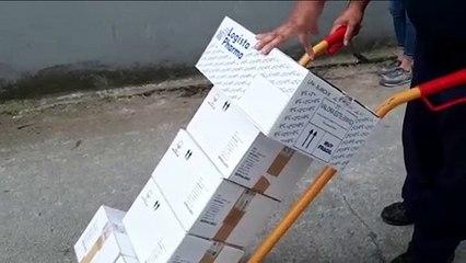 Neutralizada una bomba de la Guerra Civil hundida en Pasaia