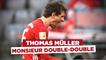 Bundesliga : Thomas Müller, Monsieur double-double !