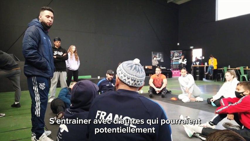 Actus : Stage de l'équipe de France de Breakdance à Grande-Synthe - 06 Avril 2021