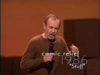 George Carlin Talks About -Stuff-