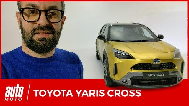 Toyota Yaris Cross : premier contact avec le grand frère de la voiture de l'année