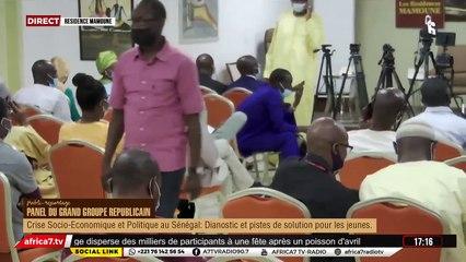 Panel du Grand Groupe Républicain - Residence Mamoune Dakar