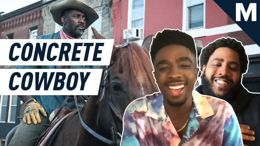 The 'Concrete Cowboy' cast on the importance of bringing Black cowboys to the screen