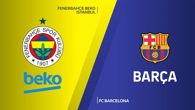 Fenerbahce Beko Istanbul - FC Barcelona Highlights | Turkish Airlines EuroLeague, RS Round 33