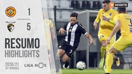 Highlights: CD Nacional 1-5 Portimonense (Liga 20/21 #25)